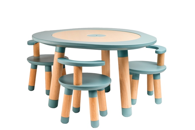 Italiaans design kindertafel en kinderstoel [MU]Table