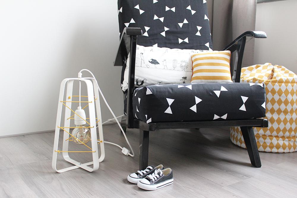 babykamer verlichting industrieel