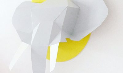 chloefleury-olifant-papieren-dierenkop-minimixtape