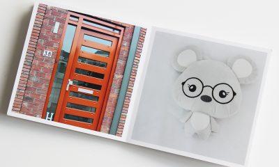 fotoboekje met favoriete knuffel voor in bed