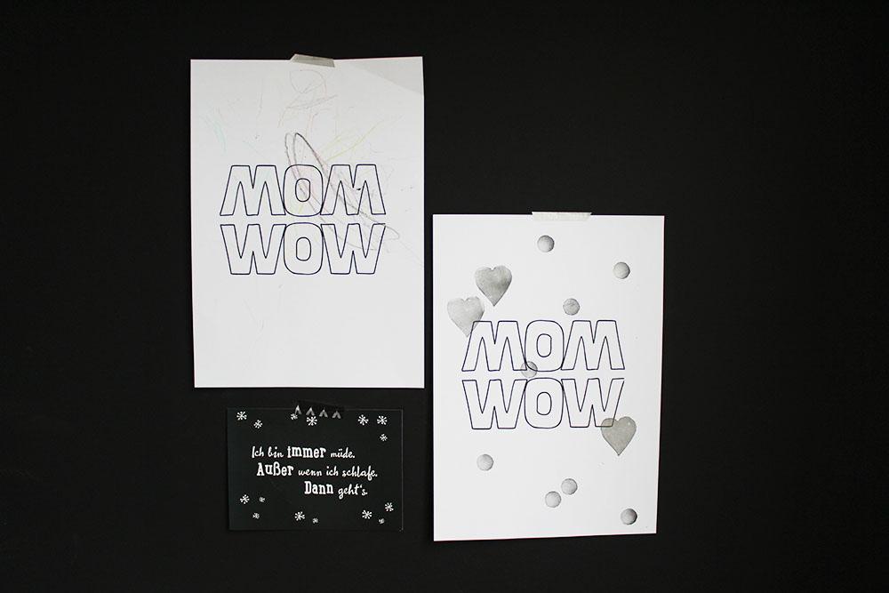 moederdag gratis printable monochrome kids MINIMIXTAPE