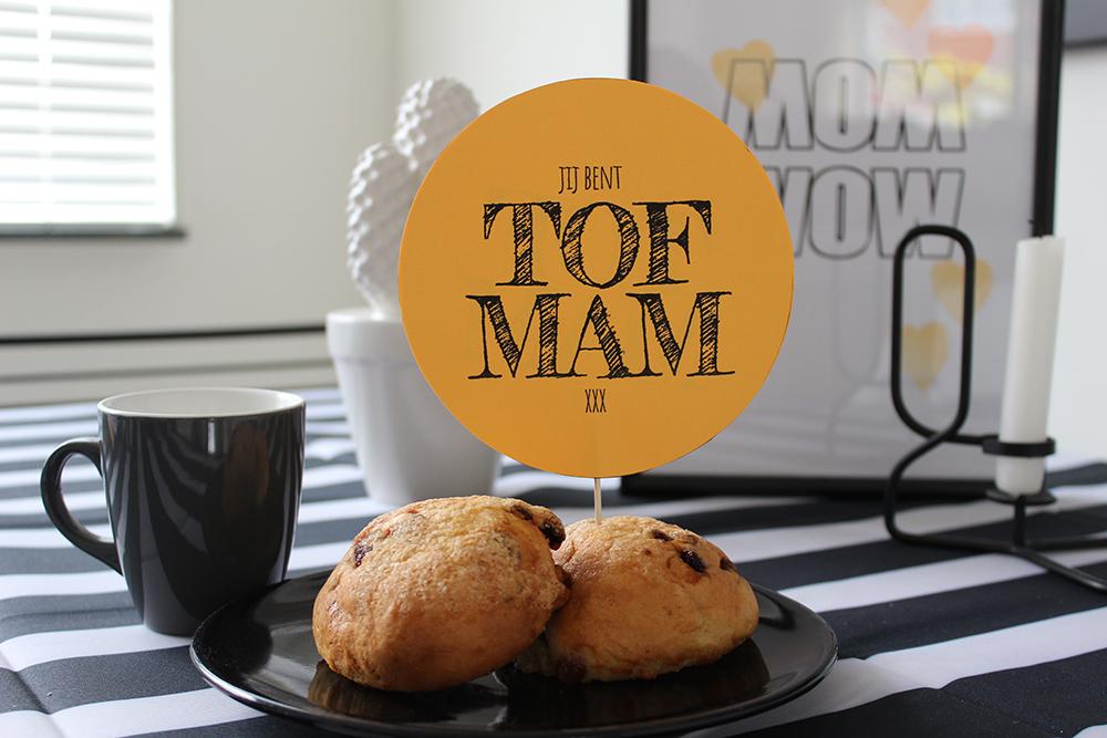 moederdag ontbijt printable tof mam MINIMIXTAPE