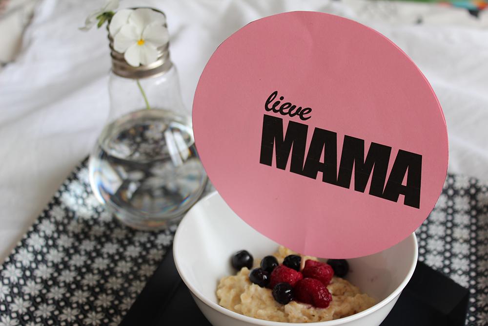 moederdag printable lieve mama ontbijt MINIMIXTAPE