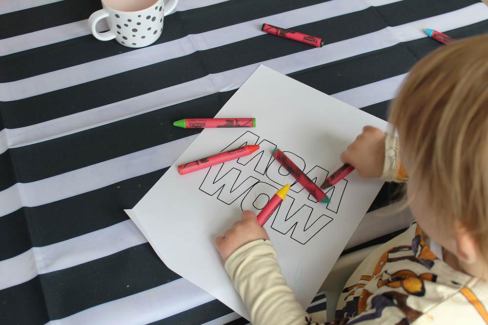 moederdag tekening maken gratis printable MINIMIXTAPE