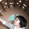 Miley House kartonnen speelhuisje