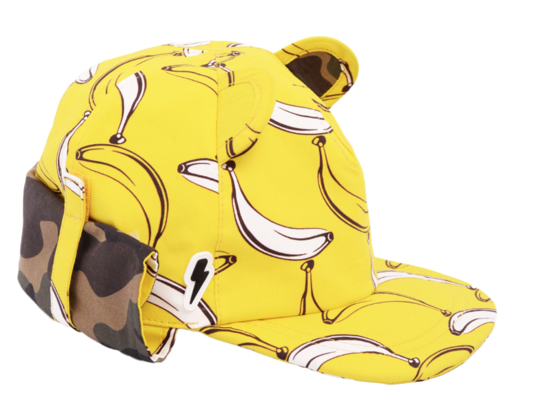 Zonnehoedje Banana Split geel Little Hotdog Watson