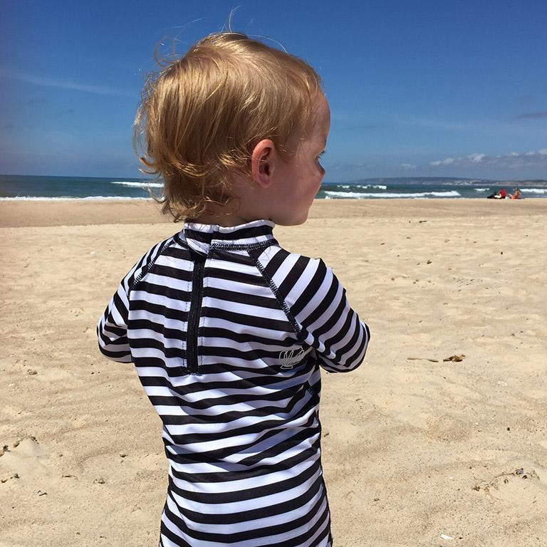 hippe uv-kleding beach and bandits monochrome