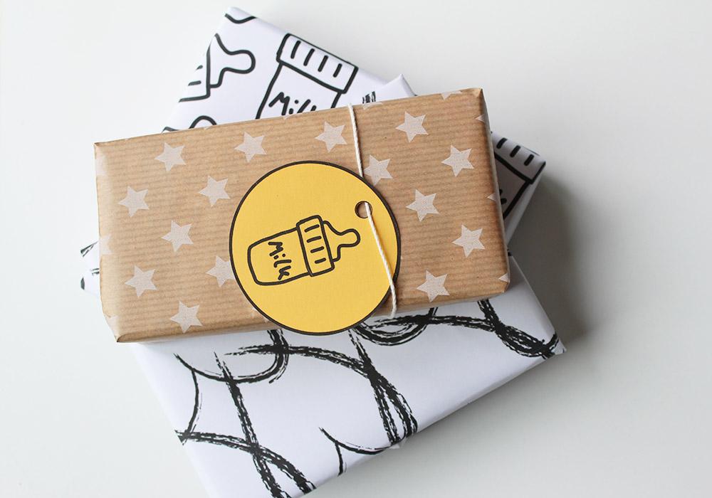 printable cadeau kaartjes milk print