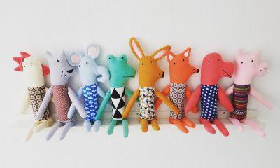 Hippe knuffelbeesten knuffels kidsdesign