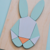 Kidsdesign minimalistische houten puzzel Chloe Fleury