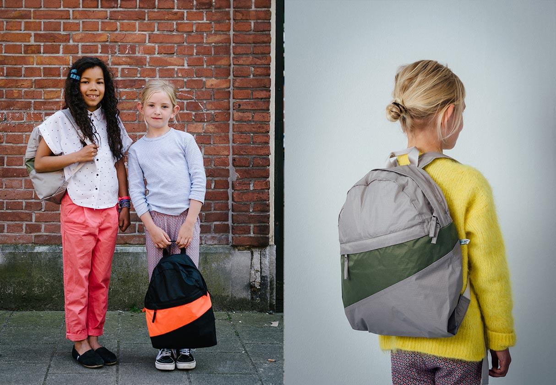Maar school met design: rugzak van Susan Bijl