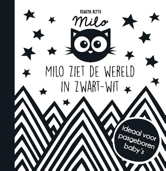 Milo ziet de wereld zwart-wit kinderboek
