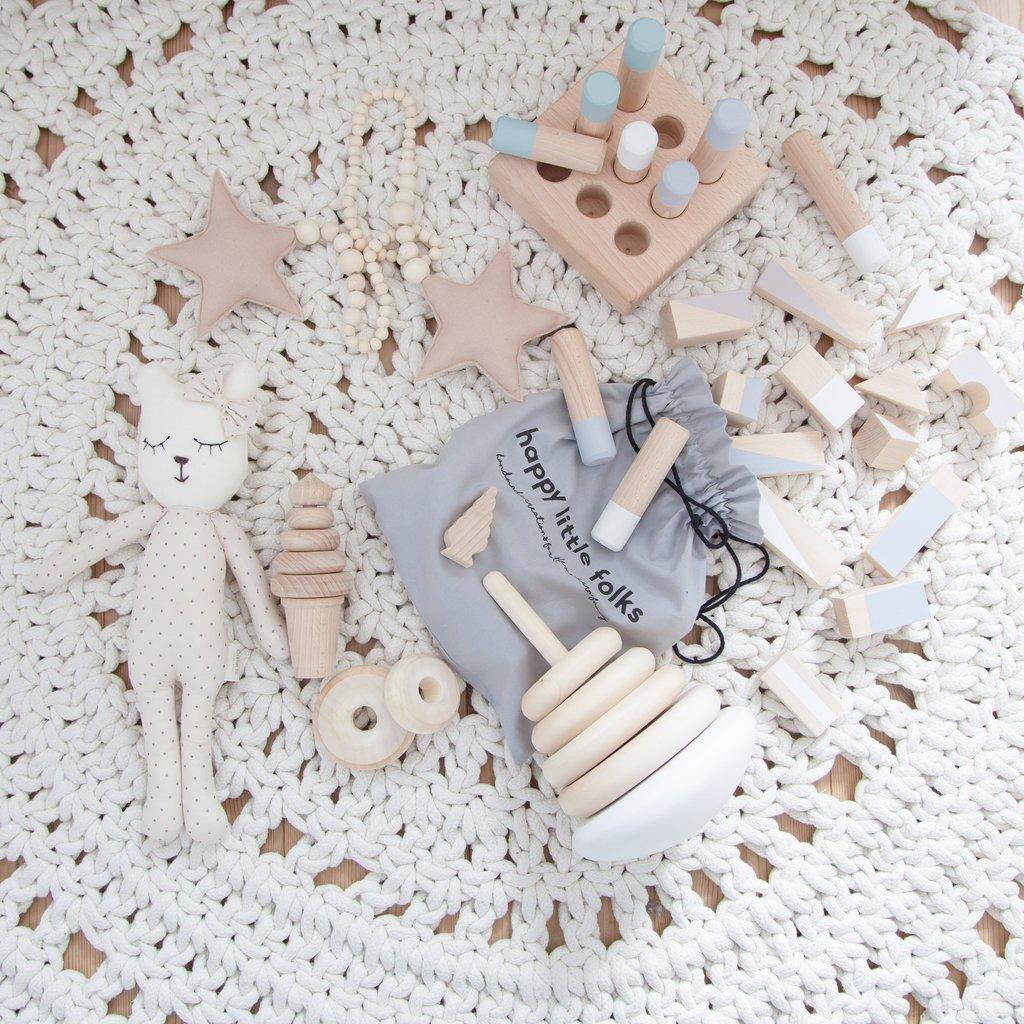 houten speelgoed design mooi blank hout