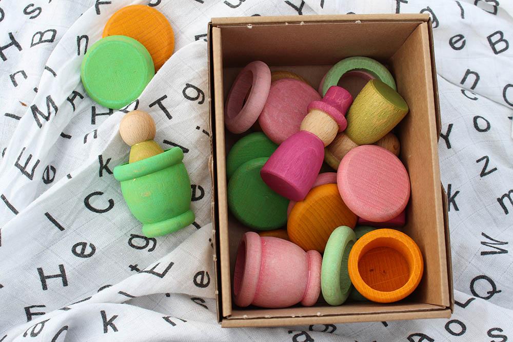 Nins houten speelgoed