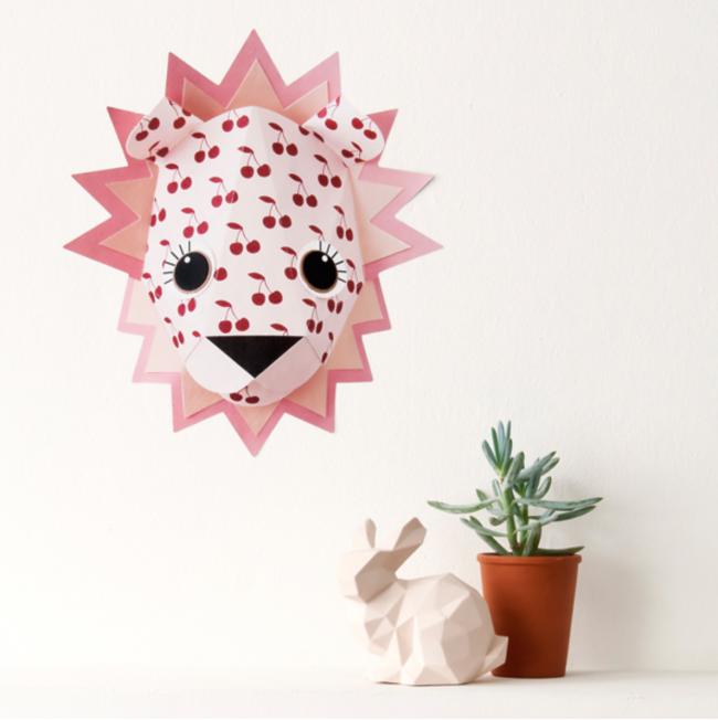 Muurstickers kinderkamer Studio Ditte leeuw