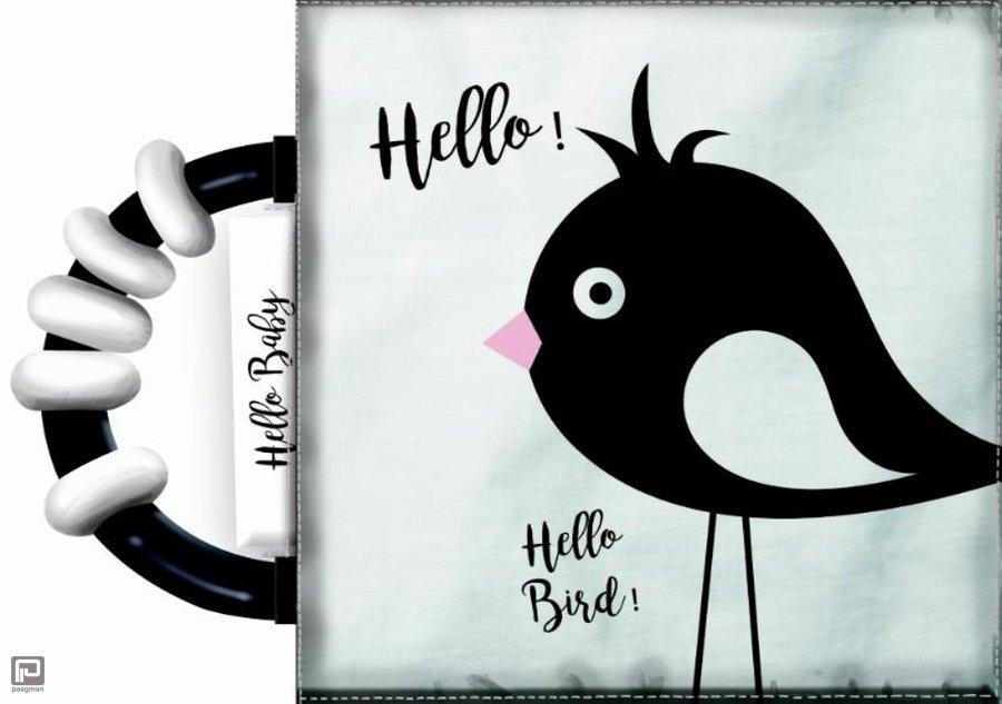 hello-baby-knisperboekje-met-rammelaar zwart wit