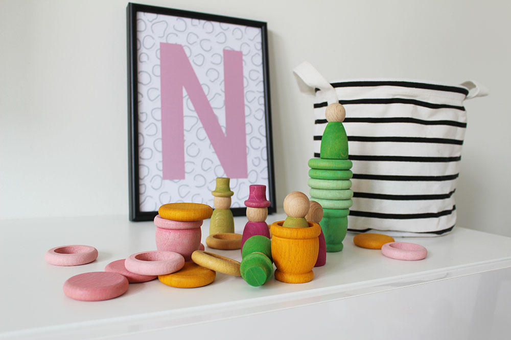 nins grapat favoriet houten speelgoed educatief fantasie creatief
