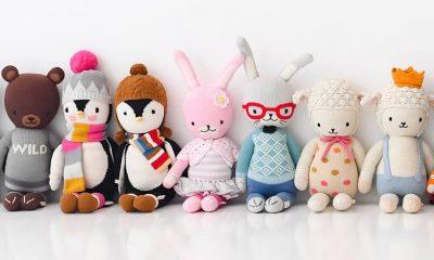 cuddleandkind handmade gebreide knuffels