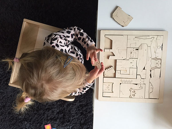 houten dierenpuzzel design speelgoed hippe kids