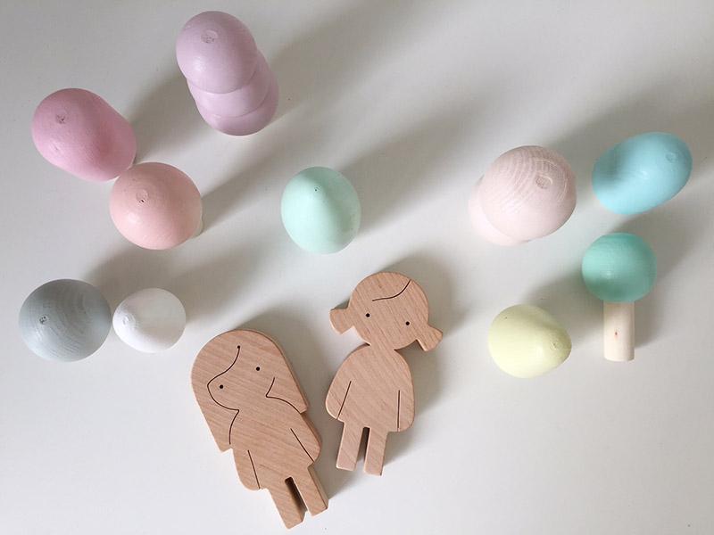houten speelgoedfiguurtjes design handgemaakt