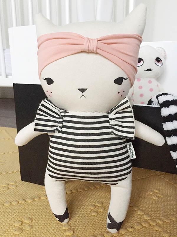 studio bundis design knuffel kat poes