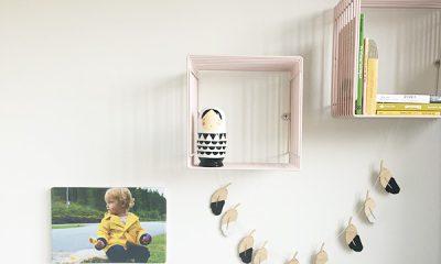 kinderkamer idee foto aan de muur