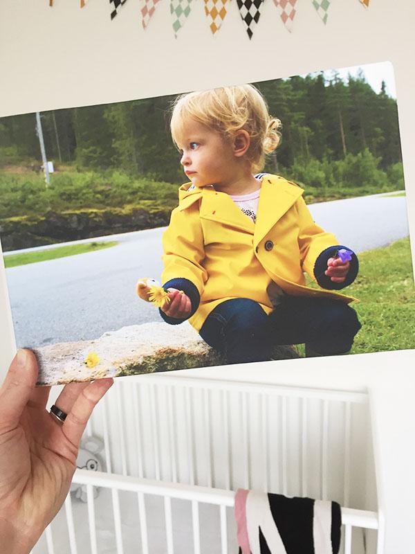 kinderkamer inspiratie foto aan de muur
