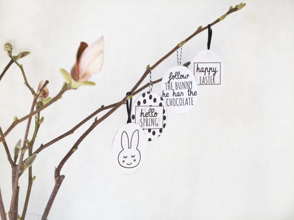 DIY voor Pasen: printable paasdecoratie