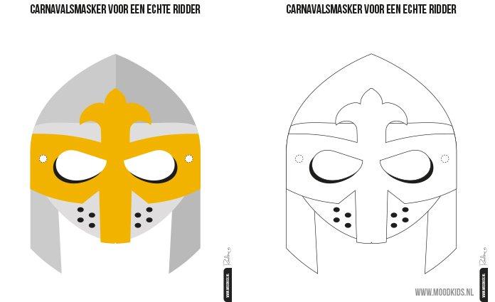 printable masker moodkids.nl