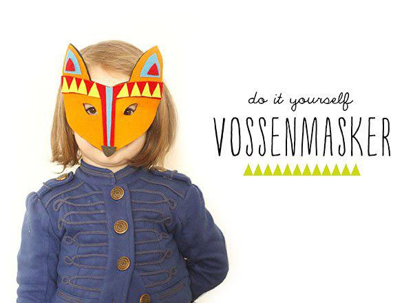 3x DIY masker voor carnaval + gratis printables