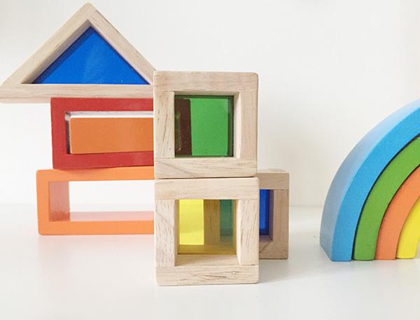regenboogblokken met ramen review