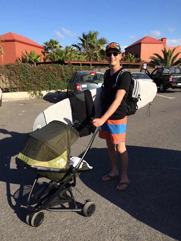reisdilemma's tag met baby op reis en surfen