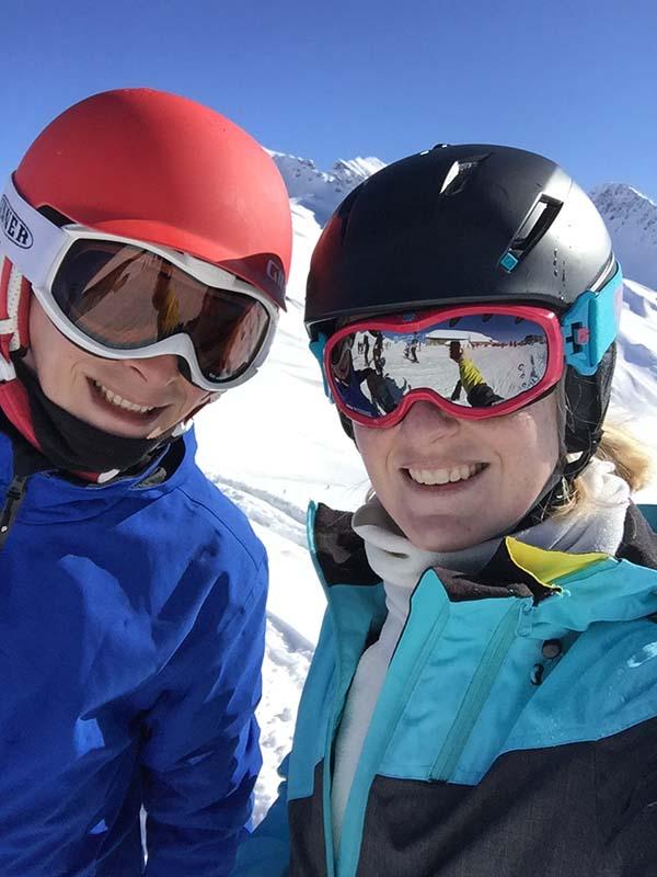 wintersport franse alpen