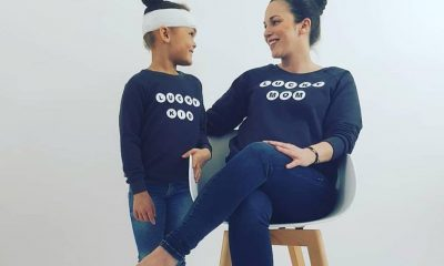 Lucky Leaf twinning kinderkleding en mommy sweater