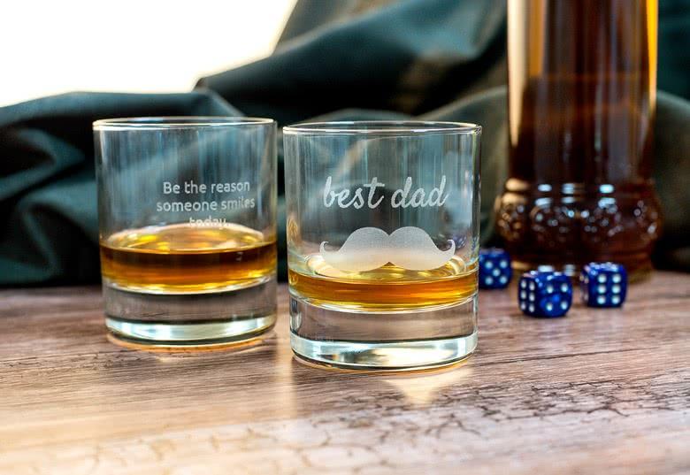 cool vaderdag cadeau whiskey glas graveren