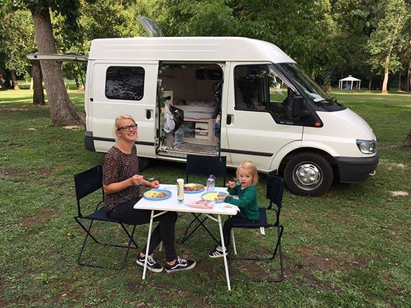 Fotoverslag reizen in een zelfgebouwde camper – de terugreis