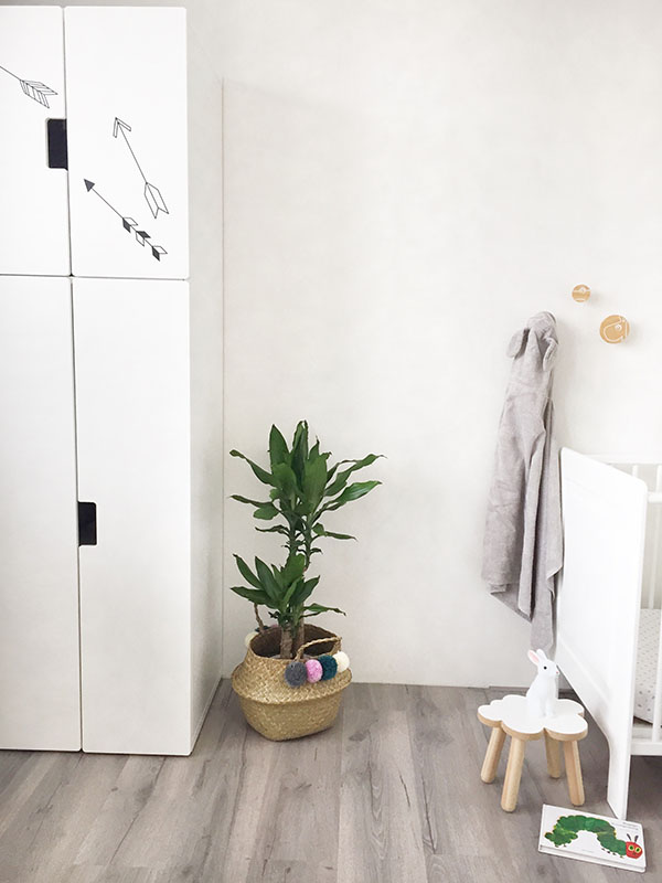 kamerplant in kinderkamer dracaena