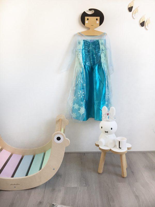 prinsessen jurk meisje
