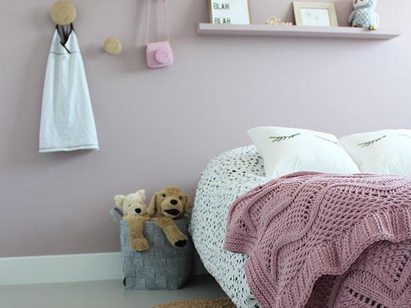 Kinderkamer inspiratie met gietvloeren