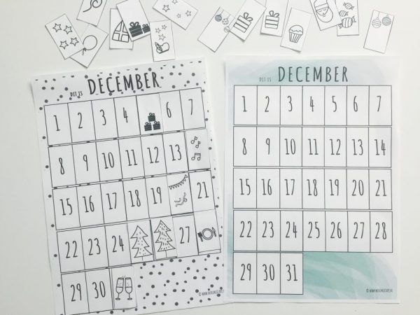 'Dit is december' printable maandplanner: orde in de chaos!