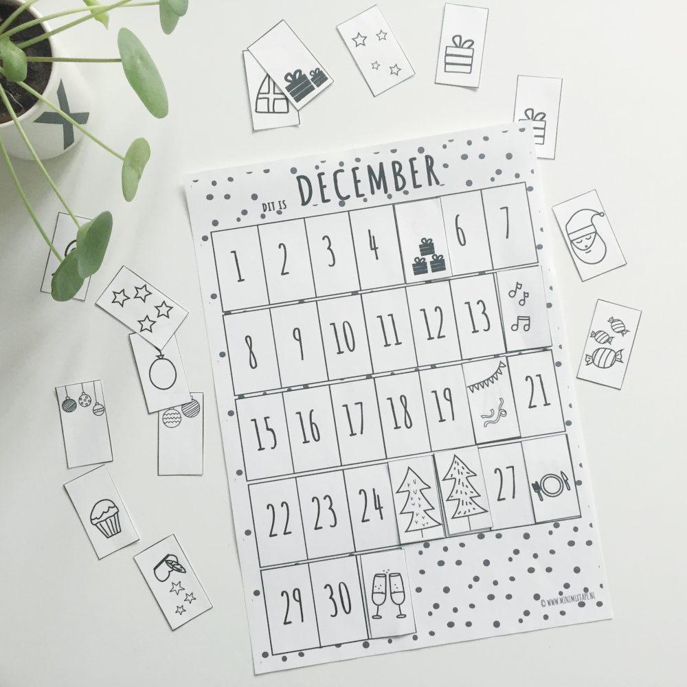 printable december kalender