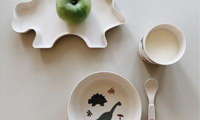 dino kinderspullen ontbijtset liewood