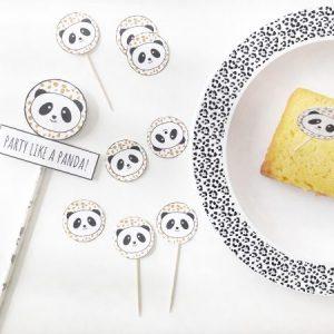 voorbeeld van panda versiering kinderverjaardag