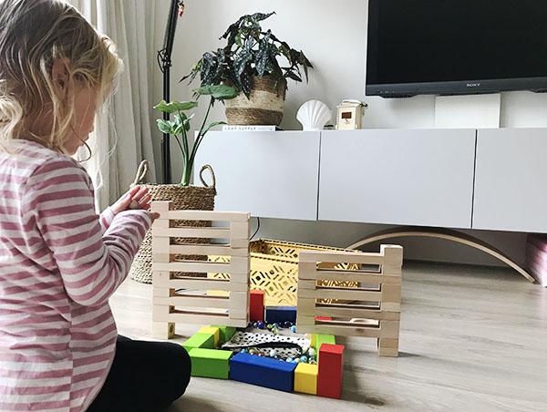 knikkerbaan eichhorn voorbeeld bouwen