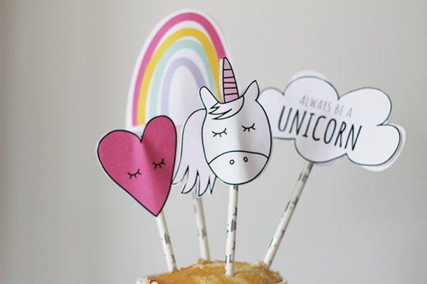 unicorn taart maken verjaardag kind