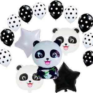 panda kinderfeestje decoratie ballonnen