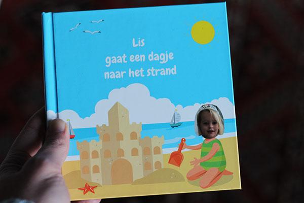 fotocadeau kinderboek met naam en foto