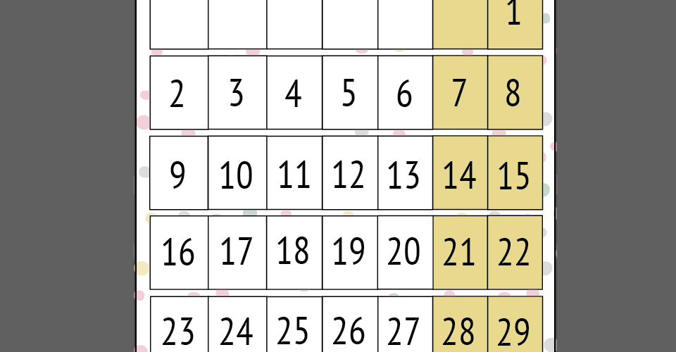 maart printable maandplanner voor kinderen