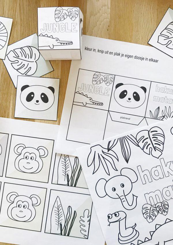 Een slimme ouder heeft iets achter de hand: dit doe-boek kun je eindeloos printen