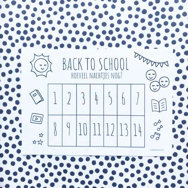 back to school printable aftelkalender